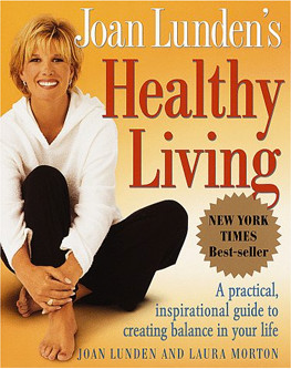 Joan lundens healthy living